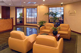 Carvill Insurance Services, Lobby